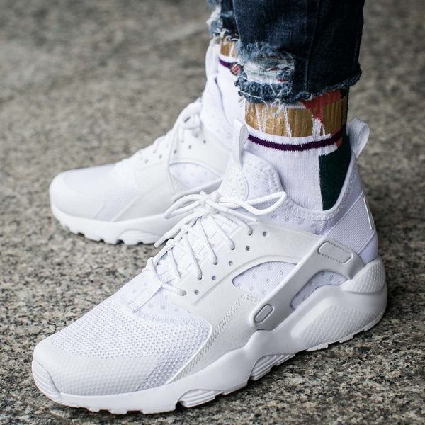 nike air huarache grey billig