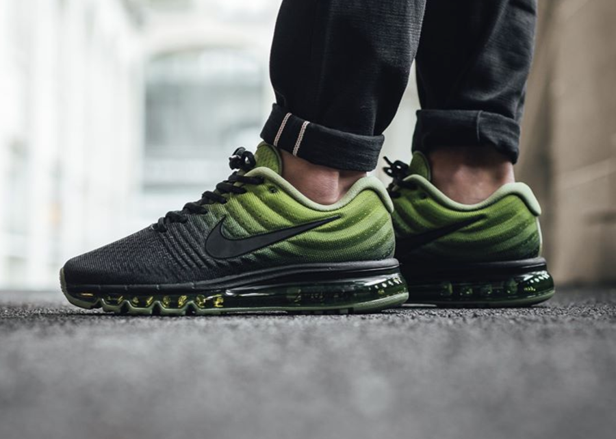 nike air max 2017 green schwarz