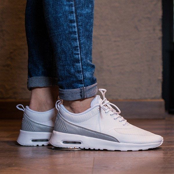 Nike Air Max Thea Frauen Alle Weiß – Billig air max