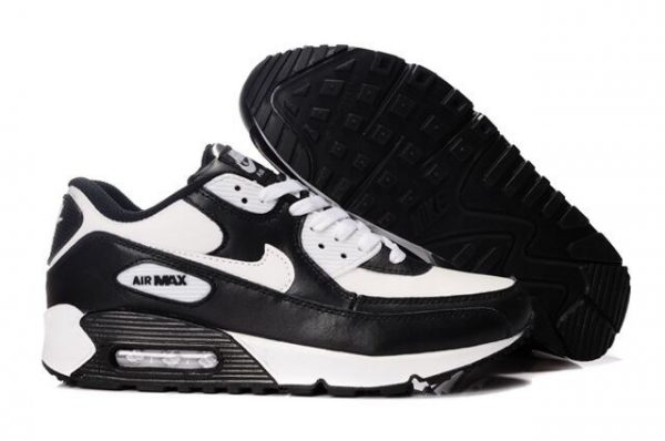 UK Sale Nike Air Max 90 Frauen Schwarz Günstige Trainer K-1080